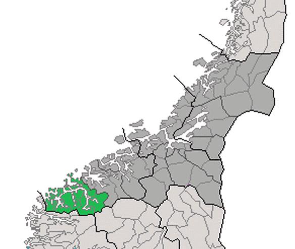 sunnmøre kart Fil:Kart Sunnmør.png   Alnakka.net sunnmøre kart